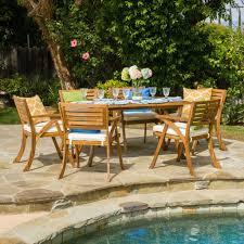 coastside 7pc outdoor dining set u2013 gdf studio