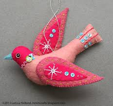 mmmcrafts snow bird ornament pattern available