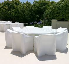 White Plastic Patio Table by Furniture Spray Paint Plastic Garden Furniture Painting Plastic