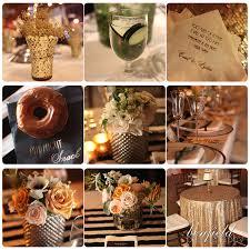 art deco wedding reception