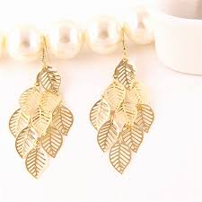 simple gold earrings 60 unique gold earring design images wedding idea