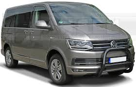 vw minivan 2015 bullbar 76 mm vw t6 2015 to made of powdercoated stainless