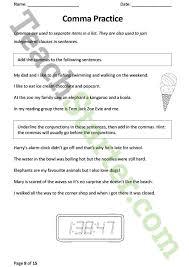 punctuation worksheet pack lower primary teaching resource