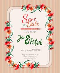 wedding invitation background watercolor floral wedding invitation card background vector free
