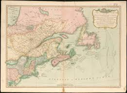Map Of Quebec Province A New And Correct Map Of The British Colonies In North America