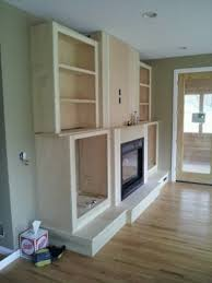 Fireplace Side Cabinets by Built In Fireplace Entertainment Center Retro Tech Construction Llc
