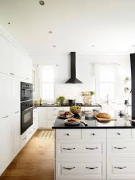 white kitchen backsplash ideas classic brown varnished wooden