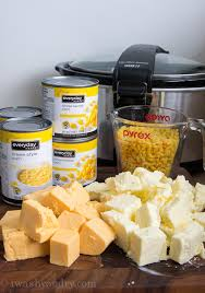 cooker macaroni and corn casserole i wash you