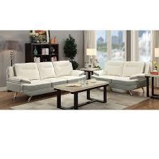 Flexsteel Leather Sofa Living Room Dual Reclining Loveseat Double Recliner Sofa