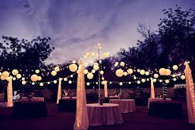 paper lanterns with lights for weddings wedding decoration ideas outdoor wedding lights decorations with