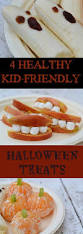 treat your little goblins to 4 easy and healthy halloween snacks