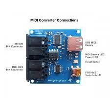 usb host to 5pin midi converters