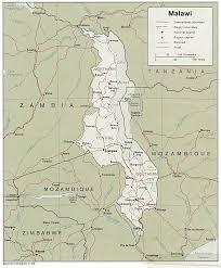 Malawi Map African Studies Center Malawi Page