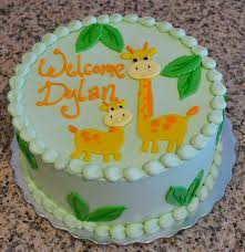giraffe baby shower cake sweet baby shower cakes to make you smile sugarland because