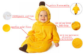 Banana Halloween Costume Single Polar Fleece Banana Sleeping Bag N5786