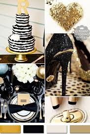 black and gold wedding ideas 5 amazing metallic wedding color ideas and supplies