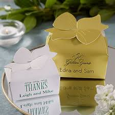 personalized favor boxes personalized bow top custom wedding favor boxes