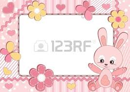 pink baby frame royalty free cliparts vectors and stock