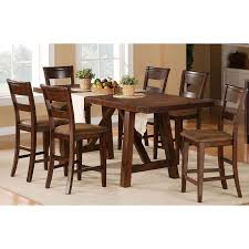rc willey kitchen table 5 piece dining set transitional veca burnished mango dining sets
