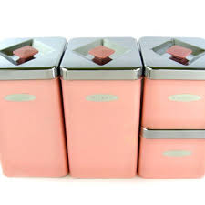 pink kitchen canisters best pink canisters products on wanelo