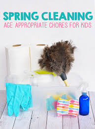 spring cleaning age appropriate chores for kids i heart arts n