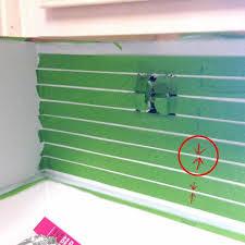 painted backsplash ideas kitchen best 25 painting tile backsplash ideas on painted