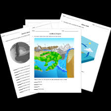 free printable earth science worksheets