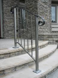 Stone Banister 33 Wrought Iron Railing Ideas For Indoors And Outdoors Digsdigs