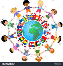 Flags Of The Wrld Kids World Flags Stock Vektorgrafik 244642273 Shutterstock