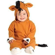 Infant Baby Boy Halloween Costumes Amazon Infant Baby Horse Halloween Costume Clothing