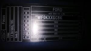ford focus metropolis blue paint code