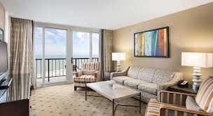 photo gallery accommodations in kingston resorts in myrtle beach hilton suite with private balcony hilton myrtle beach