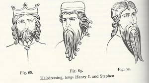 anglo saxon hairstyles 12th century the household anglo norman living history