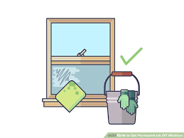 How To Get Ink Out Of Upholstery 3 Ways To Get Permanent Ink Off Windows Wikihow