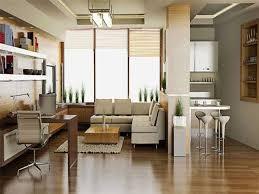 industrial theme interior deluxe white et wooden loft interior design with