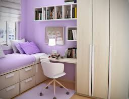 Closet Chairs Soft Brown Wooden Board Desk With Wooden Closet And Bed With