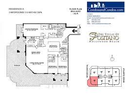 bellagio floor plan hollywood beach real estate condo sales