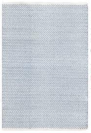 Woven Cotton Area Rugs Herringbone Swedish Blue Woven Cotton Rug A Terrific Lightweight