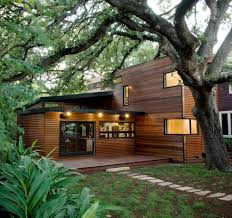 architecture stunning green house design with wooden wall panel