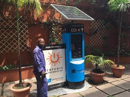 secure solar powered charging stations wrightgrid