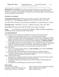 Sample Two Page Resume by Resume Template Job Sample Outline Wordpad With Regard To