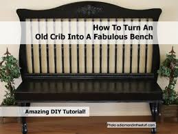 When Do You Convert A Crib To A Toddler Bed Turn Crib Into Bench Jpg