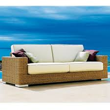 wicker outdoor sofa point golf modern wicker outdoor sofa homeinfatuation com