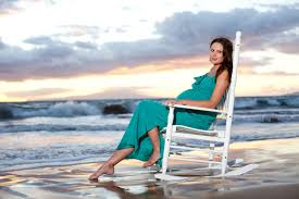 Maternity Rocking Chair Maui Beach Maternity Photos Rocking Chair At Sunset Creative