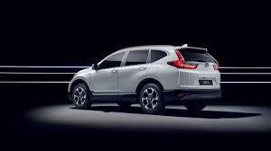 Honda Crv Diesel Usa 2018 Honda Cr V Hybrid Prototype Shown At Frankfurt Motor Show