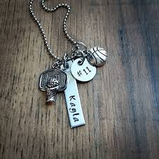 personalized basketball necklace sted personalized basketball necklace basketball