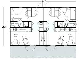 two bedroom two bath floor plans container home floor plans shipping container cabin plans two