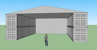 shipping container workshop warehouse depot container homes