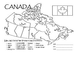 blank political map of canada map of canada test major tourist attractions maps