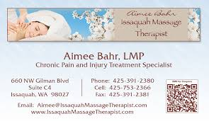 Massage Business Cards Examples Zeel Mobile Massage Business